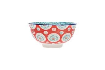 Ambrosia Aya Porcelain Rice Bowl 12cm Geometric