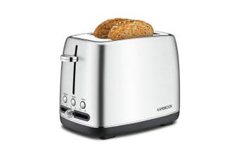 Kambrook Stainless Steel 2 Slice Toaster 16.5 x 27.5 x 19.8cm Silver