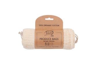 White Magic Eco Basics Produce Bags Set of 5