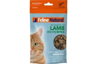 Feline Natural Lamb Healthy Bites Cat Treat 50g