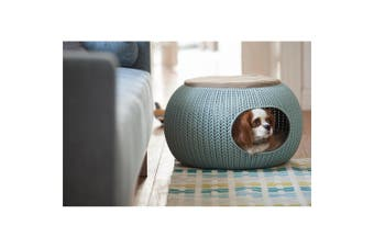 Curver Cozy Pet Home Dog Bed Grey