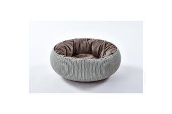 Curver Cozy Pet Dog Bed Grey
