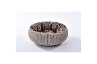 Curver Cozy Pet Dog Bed Beige