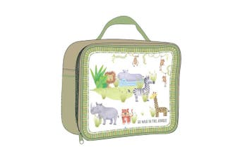 Ashdene Go Wild Insulated Lunch Bag 23 x 18 x 9.5cm