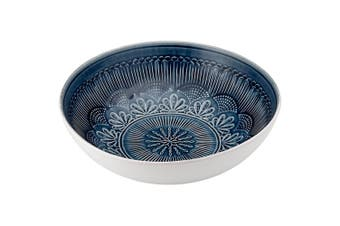 Ladelle Nadia Navy Salad Bowl