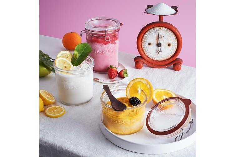 Luigi Bormioli Lock Eat Glass Food Storage Jar 350ml