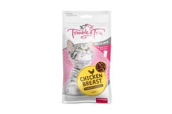 Trouble & Trix Cat Treat Chicken Breast 85g