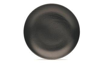 Noritake BoB Dune Porcelain Coupe Dinner Plate 27.5cm Black