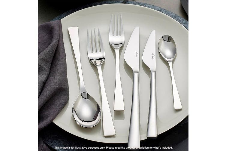 Noritake Alzette Mirror Polished 18/10 Stainless Steel 56 Piece Cutlery Set