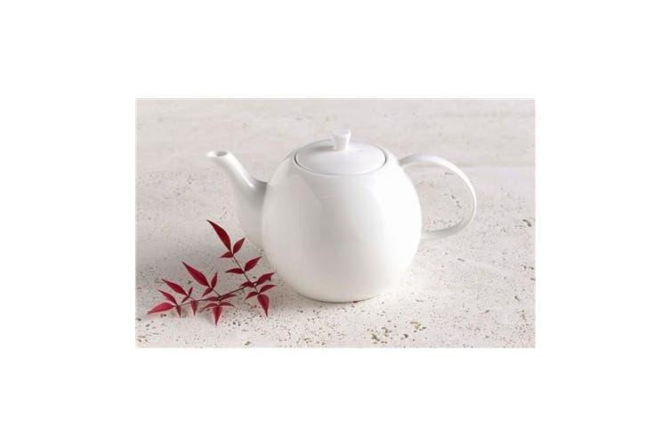 Alex Liddy Aquis 1.2 Litre Fine Bone China Teapot