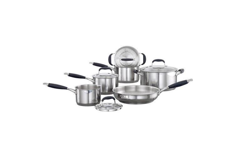 Baccarat Capri + Stainless Steel Cookware Set 6 Piece