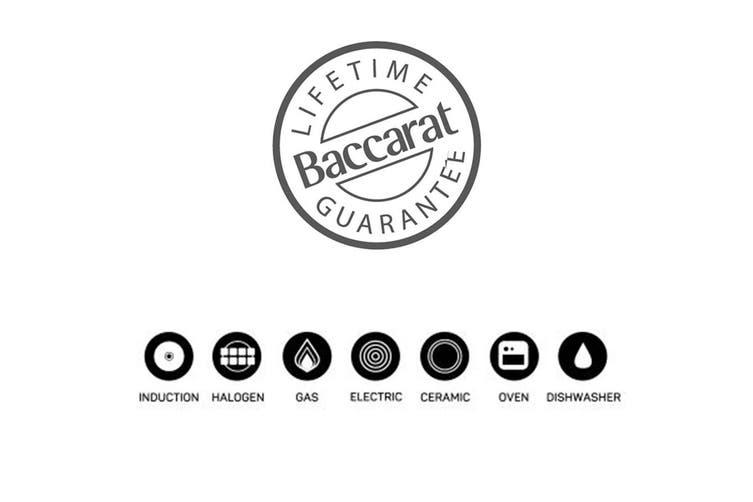 Baccarat Granite Non Stick Wok with Lid 30cm