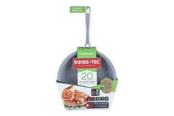 Cuisine::pro Swiss+Tec Non Stick Ceramic Frypan 20cm Frying Pan