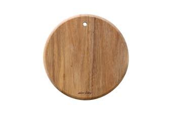Alex Liddy Acacia Wood Mini Round Serving Board 19 x 19cm