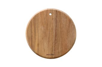 Alex Liddy Acacia Wood Mini Round Serving Board 19 x 19cm