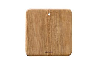 Alex Liddy Acacia Wood Mini Square Serving Board 19 x 19cm