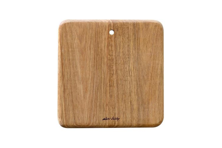Alex Liddy Acacia Wood Mini Square Serving Board 19 x 19cm