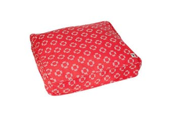 Molly Mutt Lady in Red Dog Bed Duvet Huge