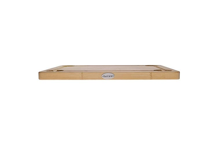 Baccarat Butchers Corner Bamboo Carving Board 45 x 32cm