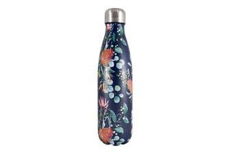 Hydro2 Double Wall Stainless Steel Water Bottle 500ml Flower