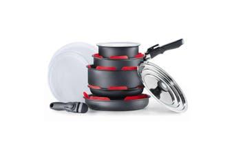 Cuisine::pro Summit Aluminium Stackable Non Stick 10 Piece Cookware Set