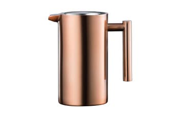 Baccarat Barista Stainless Steel Double Wall Coffee Press 1L Copper