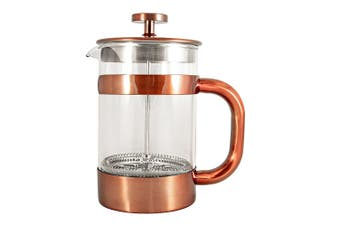Baccarat Barista Stainless Steel French Coffee Press 800ml Copper
