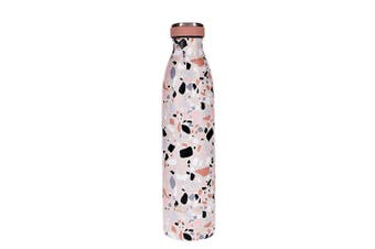 TakeAway Edit Double Wall Stainless Steel Water Bottle 750ml Terrazzo