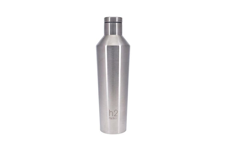 Hydro2 Quench Double Wall Stainless Steel Water Bottle 810ml Silver