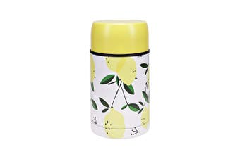 Hydro2 Togo Double Wall Stainless Steel Food Jar 800ml Lemon