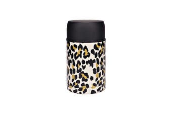 Hydro2 Togo Double Wall Stainless Steel Food Jar 800ml Leopard