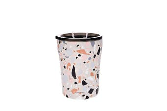 TakeAway Edit Stainless Steel Coffee Cup 300ml Terrazzo