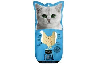 Kit Cat Fillet Fresh Chicken & Smoked Fish Cat Treat 30g