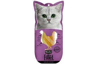 Kit Cat Fillet Fresh Grilled Chicken Cat Treat 30g