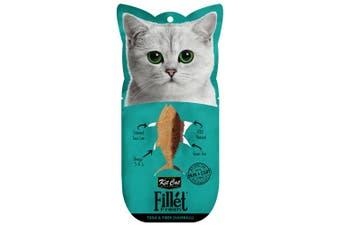 Kit Cat Fillet Fresh Tuna & Fiber Hairball Cat Treat 30g
