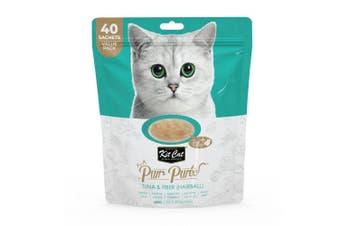 Kit Cat Pur Puree Tuna & Fiber Cat Treat 600g