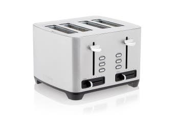 Westinghouse Stainless Steel 4 Slice Side By Side Toaster 29 x 28cm Silver