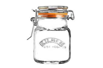 Kilner Square Clip-Top Spice Jar 70ml