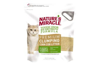 Natures Miracle Premium Corn Cob Cat Litter 4.5kg