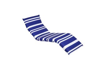 Sunnylife Steel & Polyester Deck Chair Dolce Classic Blue & White