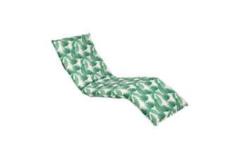 Sunnylife Steel & Polyester Deck Chair Kasbah White & Green