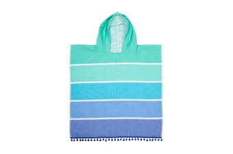 Sunnylife Kids Cotton Hooded Fouta Towel Boy 60 x 120cm