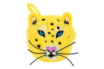 Sunnylife Leopard 2 In 1 Travel Pillow with Sleeping Eye Mask