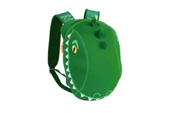 Sunnylife Crocodile Kids Neoprene Back Pack Green