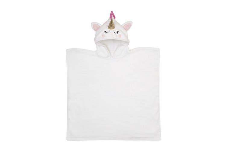 Sunnylife Unicorn Kids Cotton Hooded Beach Towel