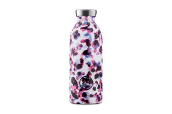 24Bottles Silk Collection Clima Bottle Water Bottle 500ml Cheetah