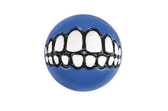 Rogz Grinz Ball Med Blue 64mm