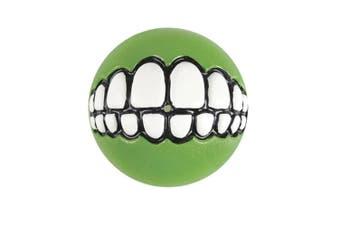 Rogz Grinz Ball Med Lime 64mm