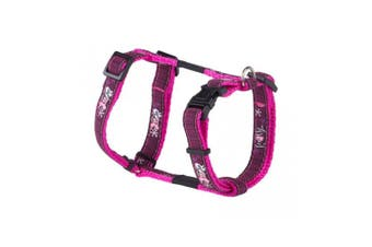 Rogz Fancy Dress Armed Response Extra Large Dog H-Harness Pink Love