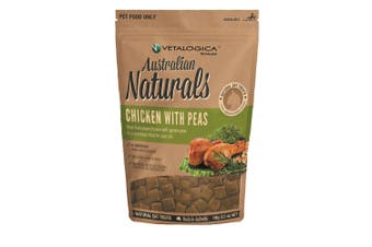 Vetalogica Australian Naturals Chicken with Peas Cat Treat 100g